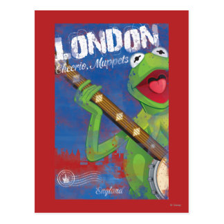 Kermit - London, England Poster Postcard