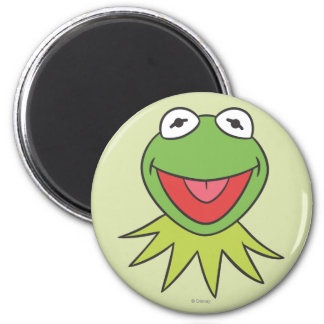 Kermit the Frog Cartoon Head Magnet