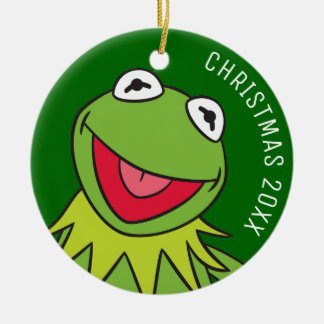 Kermit the Frog Ceramic Ornament