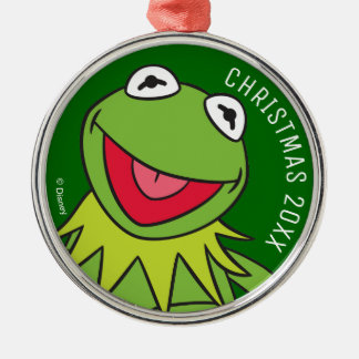 Kermit the Frog Metal Ornament