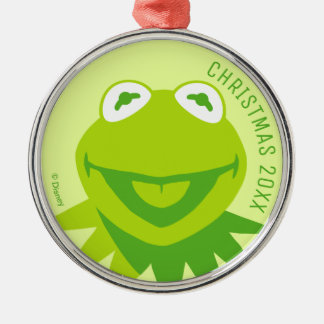 Kermit the Frog Smiling Metal Ornament
