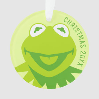 Kermit the Frog Smiling Ornament