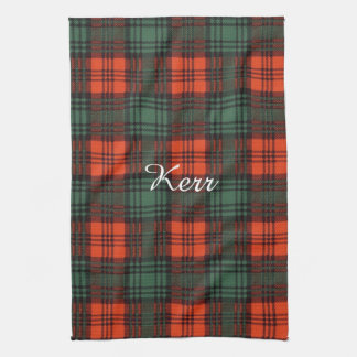 Kerr clan Plaid Scottish tartan Kitchen Towel