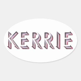 Kerrie sticker