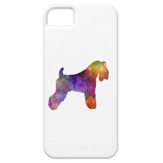 kerry Blue Terrier 01 in watercolor iPhone 5 Cover