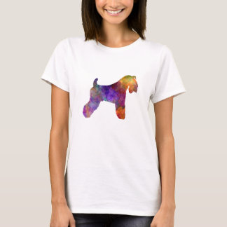 kerry Blue Terrier 01 in watercolor T-Shirt
