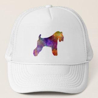 kerry Blue Terrier 01 in watercolor Trucker Hat