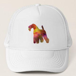kerry Blue Terrier 02 in watercolor Trucker Hat
