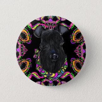 Kerry Blue Terrier 2 Inch Round Button