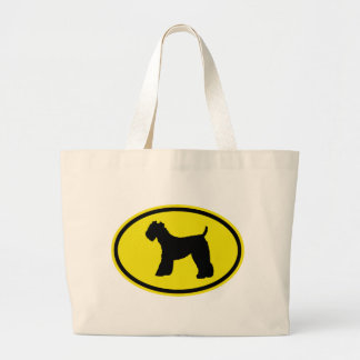 Kerry Blue Terrier Canvas Bags
