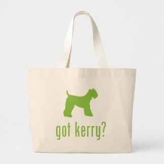 Kerry Blue Terrier Jumbo Tote Bag