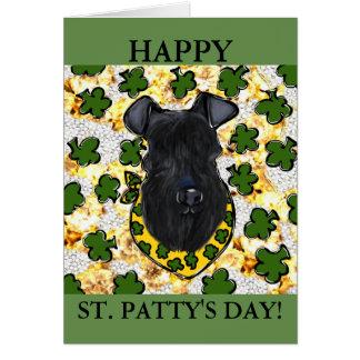Kerry Blue Terrier Card