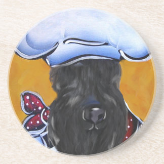 Kerry Blue Terrier Chef Coaster