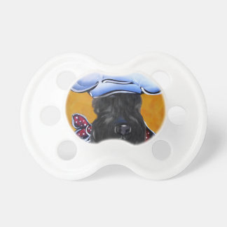 Kerry Blue Terrier Chef Pacifier