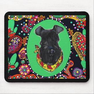 Kerry Blue Terrier Cinco de Mayo Mouse Pad