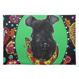 Kerry Blue Terrier Cinco de Mayo Placemat