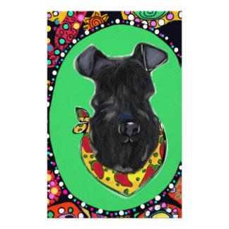 Kerry Blue Terrier Cinco de Mayo Stationery