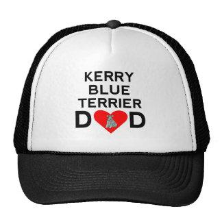 Kerry Blue Terrier Dad Trucker Hat