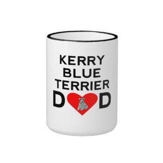 Kerry Blue Terrier Dad Mug