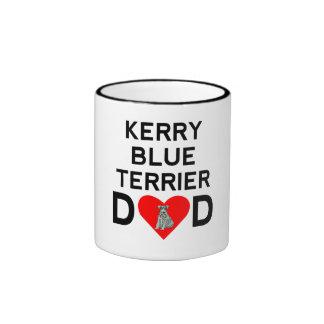 Kerry Blue Terrier Dad Coffee Mugs
