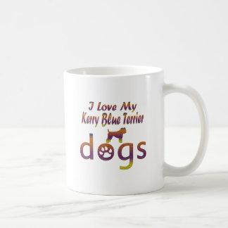 Kerry Blue Terrier designs Coffee Mugs