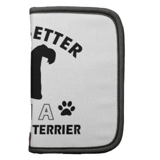 Kerry Blue Terrier Dog breed designs Organizers