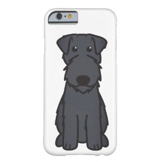 Kerry Blue Terrier Dog Cartoon Barely There iPhone 6 Case