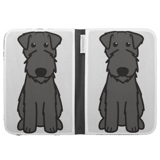 Kerry Blue Terrier Dog Cartoon Cases For The Kindle