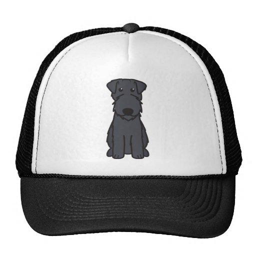Kerry Blue Terrier Dog Cartoon Hat