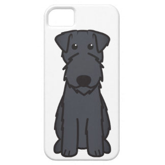 Kerry Blue Terrier Dog Cartoon iPhone 5 Cover