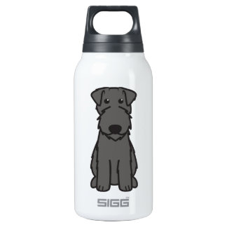 Kerry Blue Terrier Dog Cartoon SIGG Thermo 0.3L Insulated Bottle
