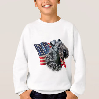 Kerry Blue Terrier Flag Sweatshirt