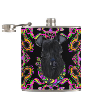 Kerry Blue Terrier Hip Flask