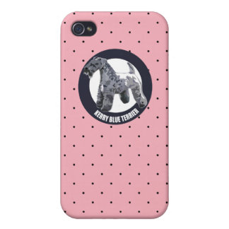 Kerry Blue terrier Cover For iPhone 4