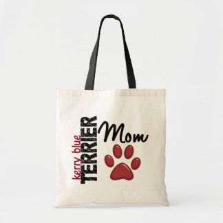 Kerry Blue Terrier Mom 2 Budget Tote Bag
