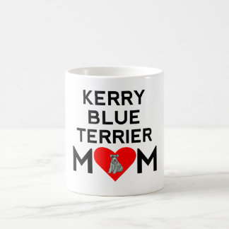 Kerry Blue Terrier Mom Coffee Mugs