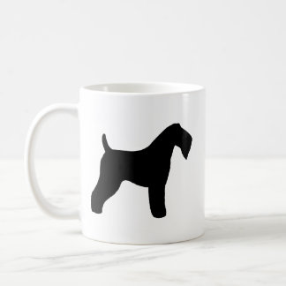 Kerry Blue Terrier Silhouettes Coffee Mug