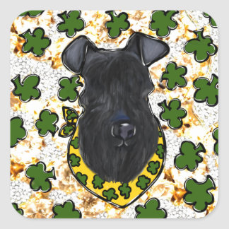 Kerry Blue Terrier Square Sticker