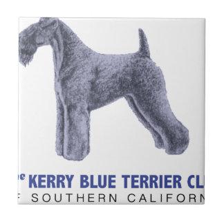 Kerry Blue Terrier Tile