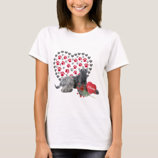 Kerry Blue Valentine For Mom T-Shirt