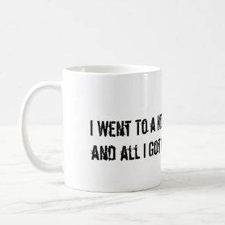 Kerry Taser Mug
