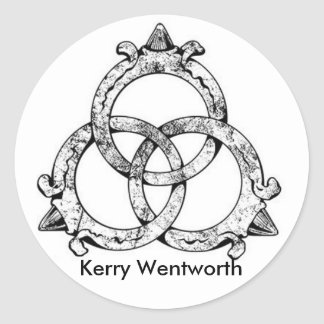 Kerry Wentworth Trinity Logo Sticker