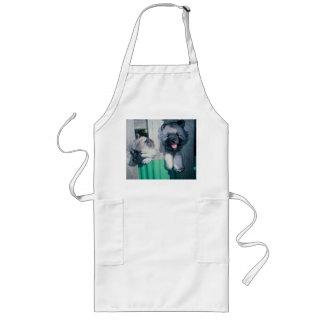 kesshond pups long apron