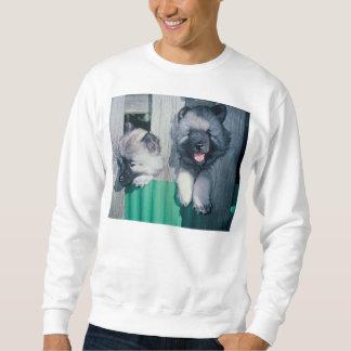 kesshond pups sweatshirt