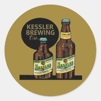 Kessler Export Beer Classic Round Sticker
