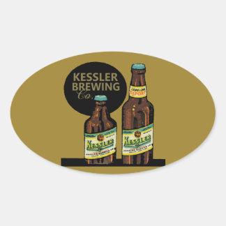 Kessler Export Beer Oval Sticker