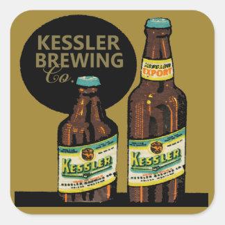 Kessler Export Beer Square Sticker