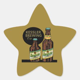 Kessler Export Beer Star Sticker