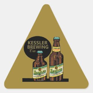 Kessler Export Beer Triangle Sticker