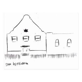 Kestenbaum Bedford-Stuyvesant Synagogue Postcard